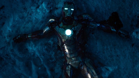 """No. 4: """"Iron Man 3"""" was the top-grossing film of 2013 -- it made $409 million domestically -- but it fell two places short of being an all-around favorite for our readers."""