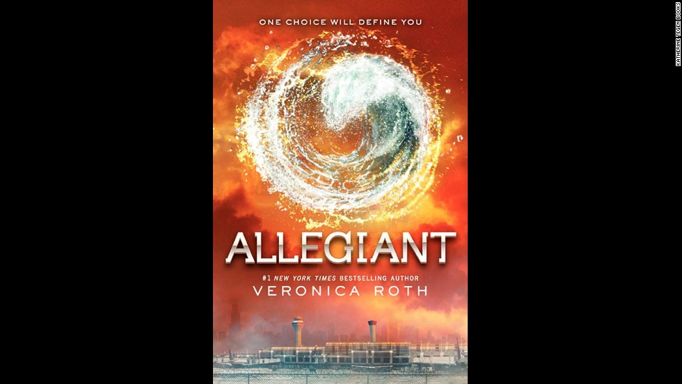 "<strong>No. 3:</strong> ""Divergent"" trilogy author Veronica Roth has had to beat back angry fans who weren't happy with the way she ends the third and final book, ""Allegiant."" Nonetheless, in spite of the uproar, CNN readers still called this installment their third favorite book of the year."