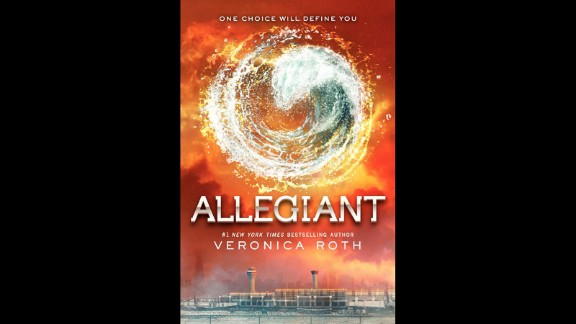 "No. 3: ""Divergent"" trilogy author Veronica Roth has had to beat back angry fans who weren't happy with the way she ends the third and final book, ""Allegiant."" Nonetheless, in spite of the uproar, CNN readers still called this installment their third favorite book of the year."