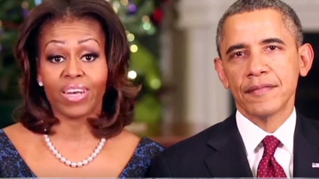 Obamas: It's our turn to serve military