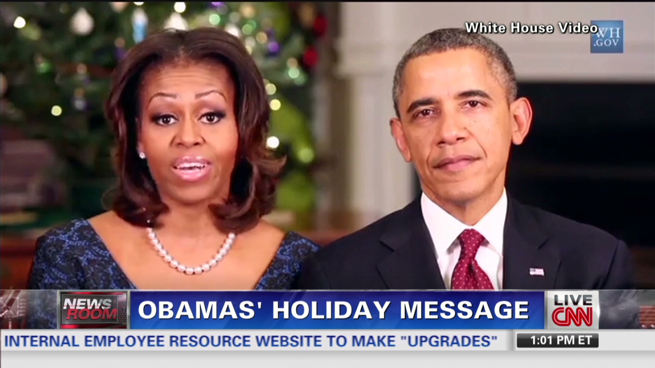 Obamas: It\'s our turn to serve military - CNN Video