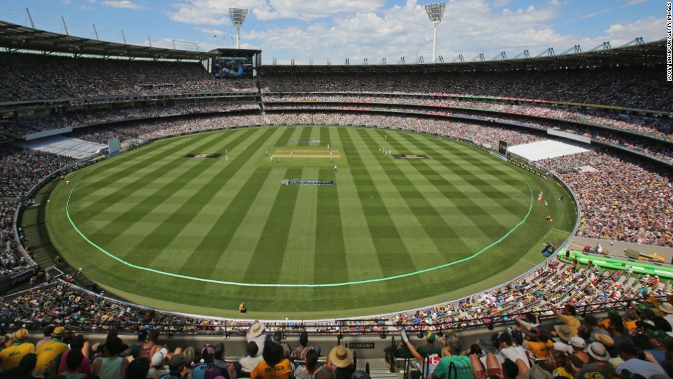 It was Boxing Day but these fans had cricket on their mind, not shopping -- 91,092 turned up to watch the fourth Ashes Test in Melbourne between Australia and England. It was the most ever to witness a Test encounter in a single day.
