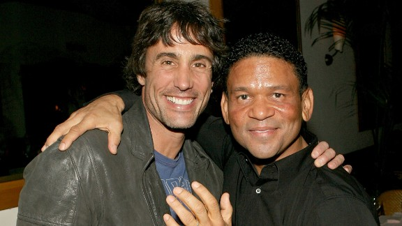 "Jeffrey Ian Pollack, left, who directed the popular 1990s films ""Booty Call"" and ""Above the Rim"" and produced ""The Fresh Prince of Bel-Air,"" was found dead on December 23. He was 54. He's pictured with producer Benny Medina in 2007."