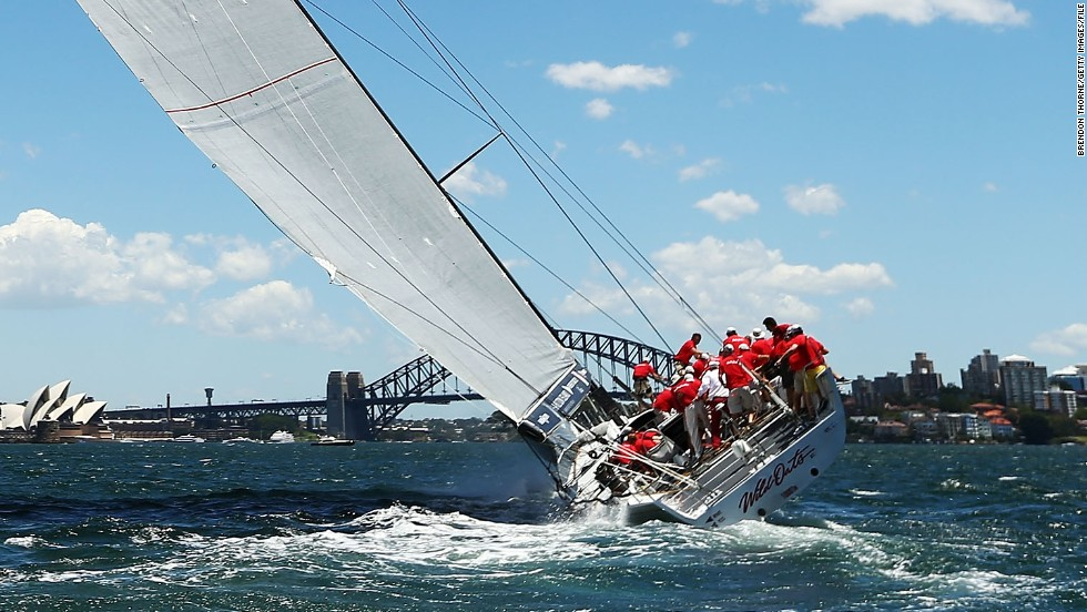 By 5 p.m. local time, the Perpetual LOYAL was craving some wind as Wild Oats XI managed to open up a five-nautical-mile lead over its closest rival across the Strait in the Cruising Yacht Club of Australia's 628-nautical-mile race.