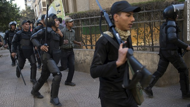 Deadly explosions in Egypt