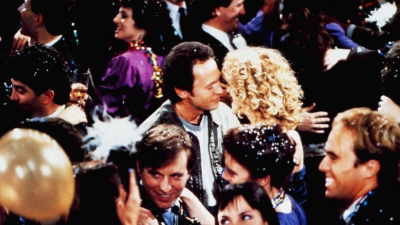 """""""When Harry Met Sally"""" -- Harry Burns (Billy Crystal) party-crashes a lavish shindig so he can tell Sally Albright (Meg Ryan) that he loves her and wants to spend the rest of his life with her, just as the countdown to the New Year begins. """"You see, that is just like you, Harry,"""" she says. """"You say things like that, and you make it impossible for me to hate you. And I hate you, Harry. I really hate you."""" And of course, she means just the opposite."""