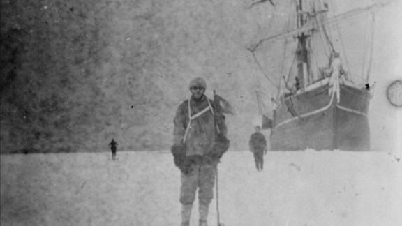 Ten members of Shackleton's group were stranded when the Aurora blew out to sea. Three men died before they were rescued in 1916.