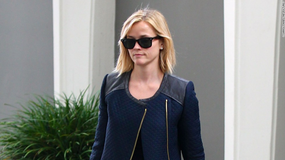 Reese Witherspoon heads to a meeting in Beverly Hills, California on December 27.