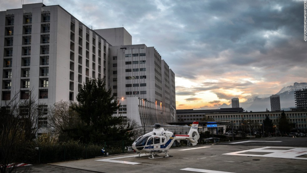"Schumacher was airlifted to hospital in Grenoble. ""Medical care both on the slopes and in hospital in France is amongst the finest in the world and Michael will no doubt be receiving the very best care in Grenoble,"" Langran said."