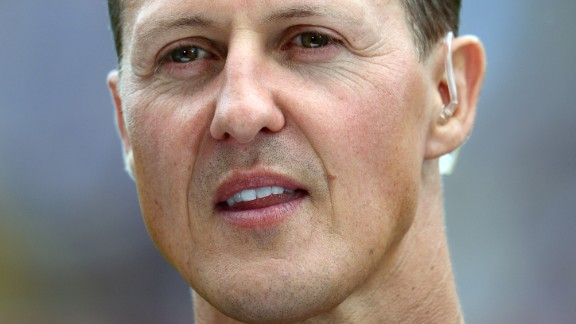 HAMBURG, GERMANY - SEPTEMBER 08: Formula 1 legend Michael Schumacher looks on during the day of the legends event at the Millentor stadium on September 8, 2013 in Hamburg, Germany.