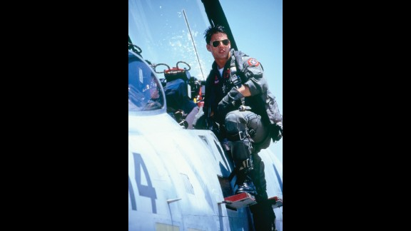 """""""Top Gun"""" -- This fighter-jet action movie made Tom Cruise a global superstar while personifying the hawkish politics of the '80s."""
