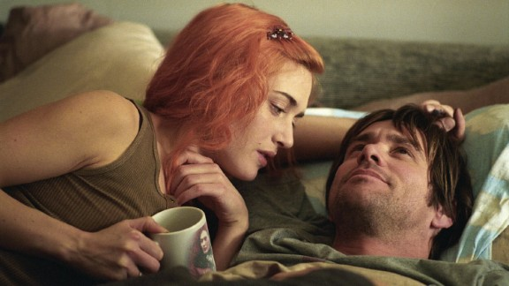 """""""Eternal Sunshine of the Spotless Mind"""" -- Winslet and Jim Carrey starred in this 2004 sci-fi romance. The script, by """"Being John Malkovich's"""" Charlie Kaufman, won an Oscar."""