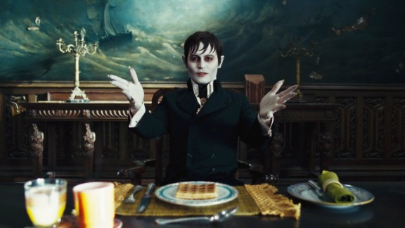 """""""Dark Shadows"""" -- Netflix is pulling the 1960s TV series from its streaming lineup. This photo is from the 2012 film starring Johnny Depp."""