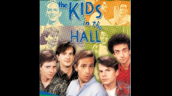 """""""The Kids in the Hall"""" -- This TV series starring a Canadian sketch-comedy troupe was a late-'80s and early-'90s hit in Canada and on CBS and HBO in the United States."""