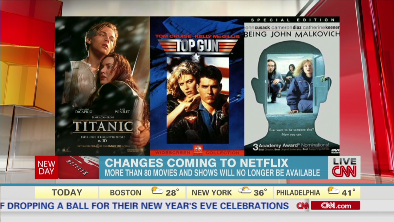 See what movies and shows are going away - CNN Video