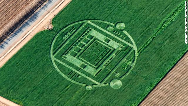 Interesting analysis on crop circles