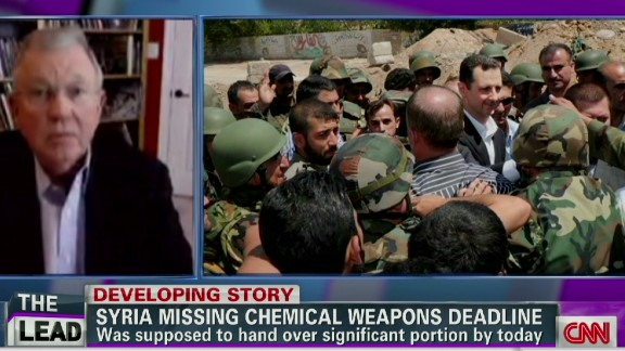 exp Lead intv David Kay Syria chemical weapons deadline_00032609.jpg