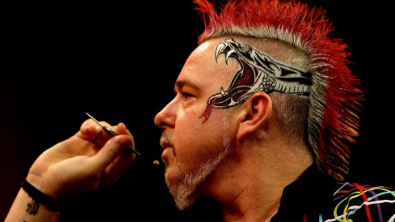 Peter Wright, who finished as runner-up in the PDC World Championship, is one of the sport