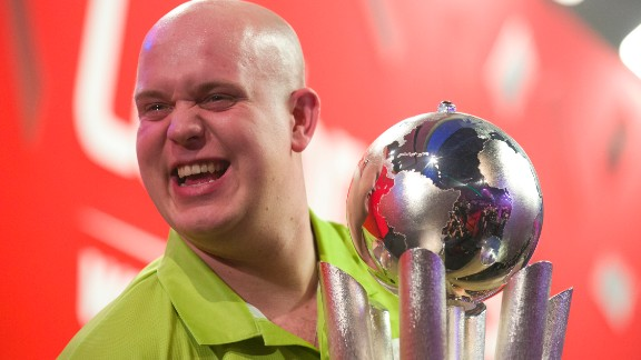 Van Gerwen defeated Wright 7-4 to win the this year