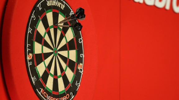 Each player starts with a score of 501 and the first to reach zero wins. After a player throws three darts, the total is subtracted from the total until it reaches zero. In order to reach zero, the player must finish by throwing a double -- if they need 36, they must throw a double 18 while if a player requires 45, they must hit a five and a double 20. Some matches are played over the best of a number of sets, where each competitor must win a number of legs to win a set.