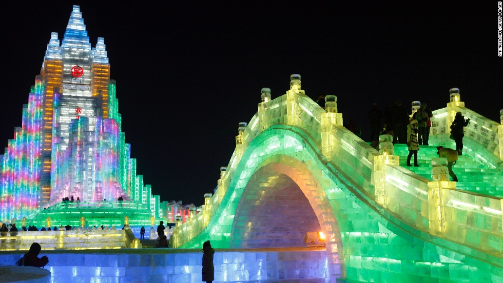 Hot In Harbin World S Most Spectacular Winter Festival Opens Cnn Travel