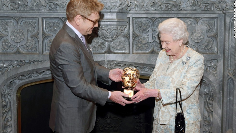 "<strong>February 8, 2015: </strong>The BAFTA awards honor films screened in British cinemas, regardless of the film's origin. it is one of the only ceremonies that does not take place in Hollywood. In 2013, Queen Elizabeth received an honorary award for her patronage of British film and TV, presented by Kenneth Branagh. BAFTA Chairman John Willis called her ""<a href=""http://www.vanityfair.com/online/oscars/2013/04/queen-elizabeth-bafta"" target=""_blank"">the most memorable Bond girl yet.""</a>"