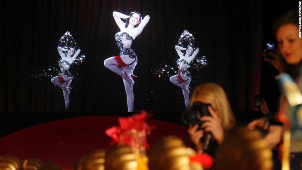 2012 saw burlesque artist <strong>Dita Von Teese</strong> become the subject of a holographic performance, as the centerpiece for the London Design Museum's showcase of shoe designer Christian Louboutin.
