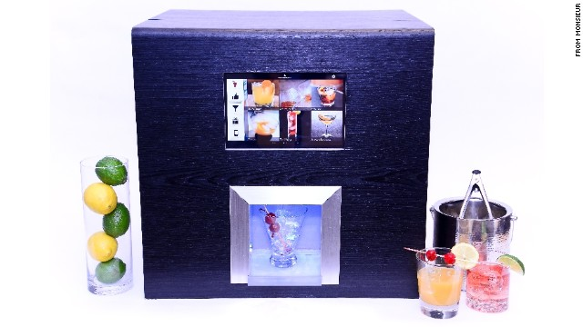 39 robotic bartender 39 machine can mix you a cocktail cnn. Black Bedroom Furniture Sets. Home Design Ideas