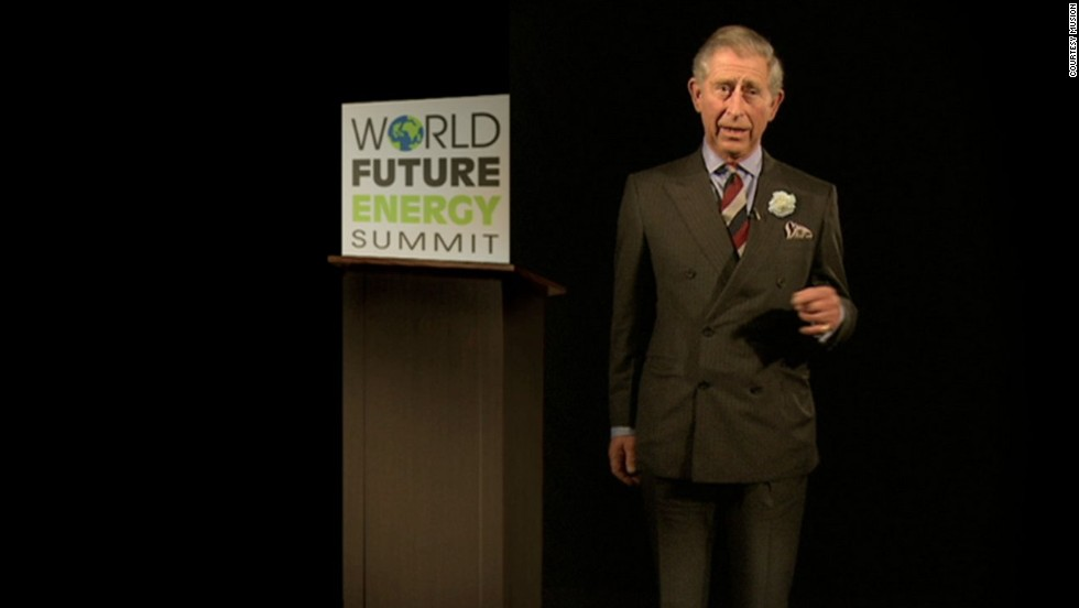 "The same year,<strong> Prince Charles</strong> appeared at Abu Dhabi's World Future Energy Summit to tout the environmental benefits of digital communication, as a replacement for flying around the world. He claimed to have saved 15 tons of carbon waste by ""beaming in"" instead of flying, and departed with the words: ""I am now going to vanish into thin air, leaving not a carbon footprint behind."""