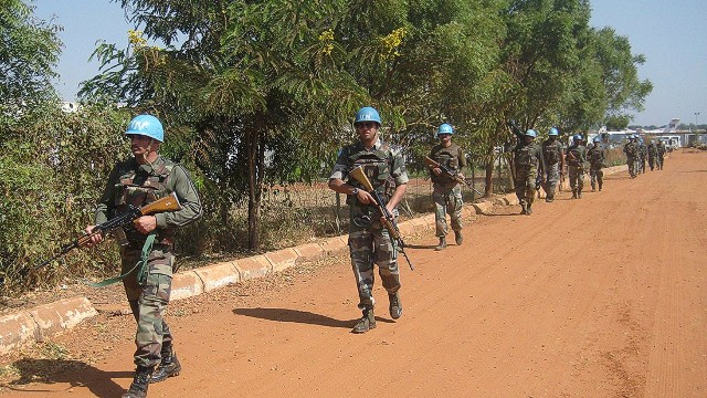 On patrol with the U.N. in South Sudan