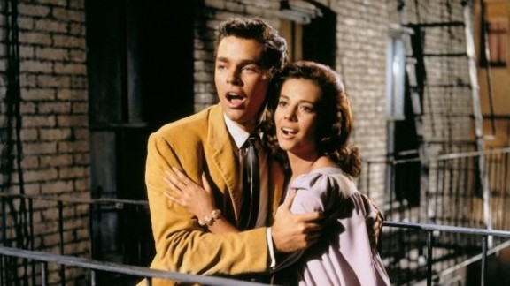 """Richard Beymer stars as Tony and Natalie Wood as Maria in the 1961 film version of """"West Side Story."""""""