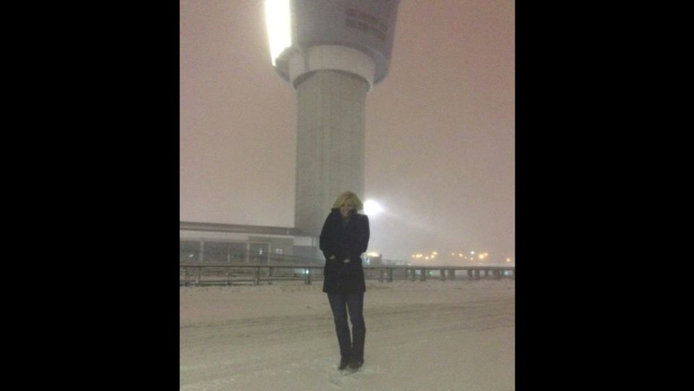 CNN's Pamela Brown reports on the storm from New York's LaGuardia Airport.