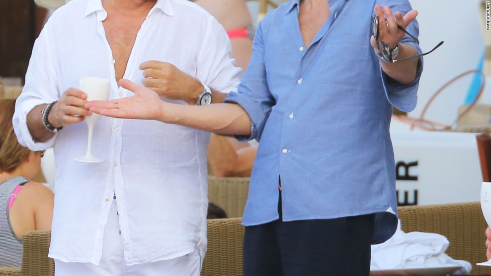 Even Ryan Seacrest takes a vacation sometimes, as these snaps from St. Barts show.