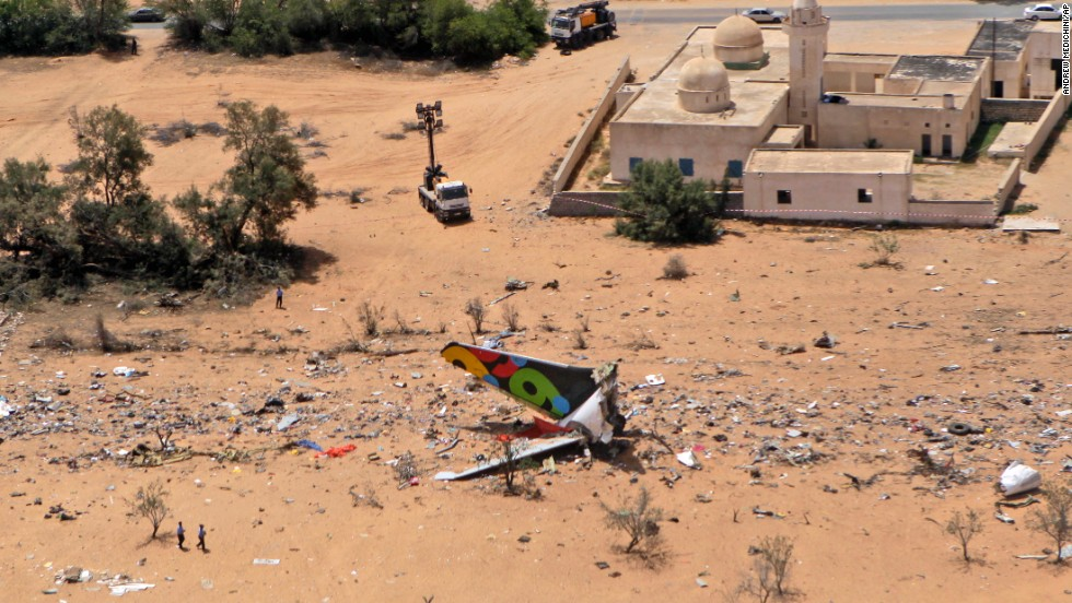 "Ruben's survival is even more remarkable after viewing the debris field left by the crash. The plane was <a href=""http://www.cnn.com/2010/WORLD/africa/05/12/libya.planecrash/"" target=""_blank"">attempting to land at Tripoli International Airport</a> after a nine-hour flight from Johannesburg."
