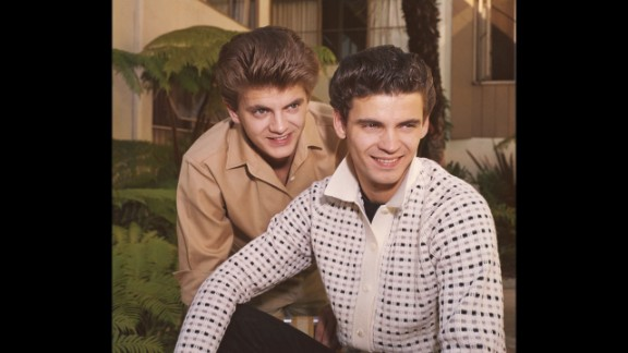 During the late 1950s and early 1960s, Phil Everly and his brother, Don, right, ranked among the elite in the music world by virtue of their pitch-perfect harmonies and emotive lyrics.