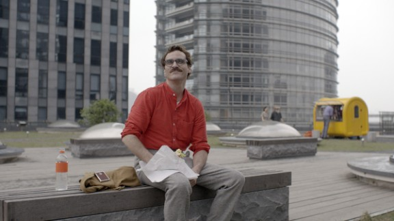 "Best original screenplay nominees: Spike Jonze for ""Her"" (actor Joaquin Phoenix pictured), Eric Warren Singer and David O. Russell for ""American Hustle,"" Woody Allen for ""Blue Jasmine,"" Craig Borten and Melisa Wallack for ""Dallas Buyers Club"" and Bob Nelson for ""Nebraska"""