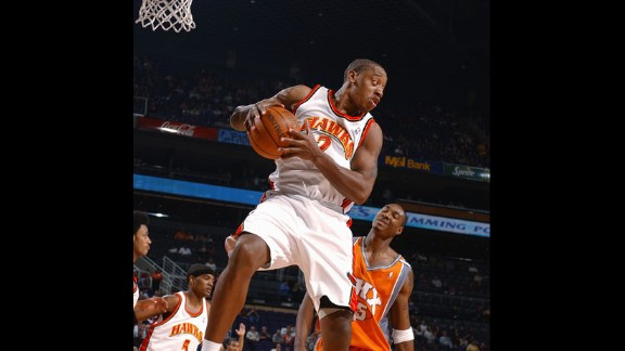 Point guard Kenny Anderson was the second overall pick by the New Jersey Nets in 1991, and he would play on seven more teams before his 15-year career ended in 2005. Anderson, a former All-American at Georgia Tech, averaged 12.6 points and 6.1 assists during his NBA career.