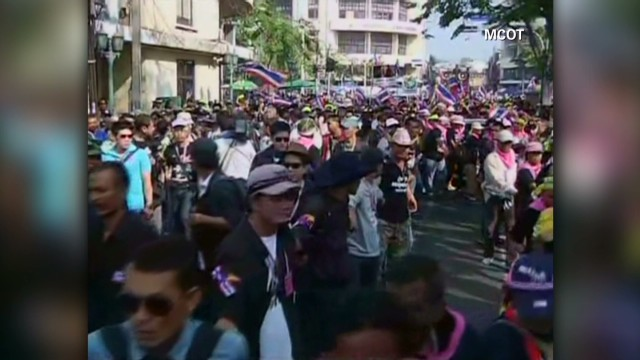 Protests hurting Thai economy