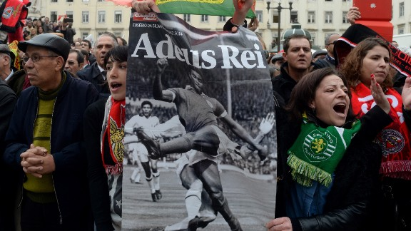It was not just fans of Benfica who were mourning Eusebio