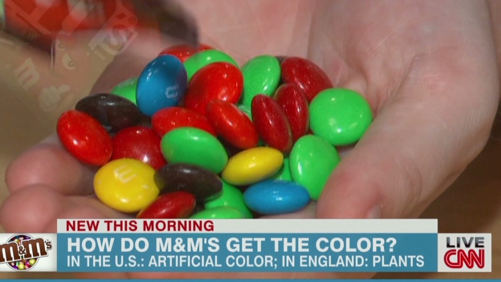 Artificial dyes: American mom petitions for European M&Ms - CNN