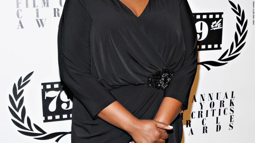 Octavia Spencer gives a coy smile at the 2013 New York Film Critics Circle Awards Ceremony on January 6.