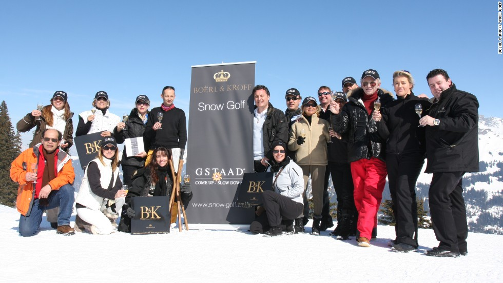 Luxury champagne brand Boerl and Kroff sponsors the event, which is as much a social occasion as it is a sporting one.