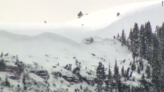 Killer avalanche in Colorado