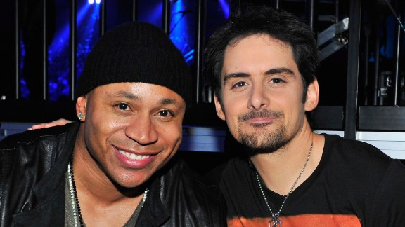"""Actor LL Cool J and musician Brad Paisley collaborated on the song """"Accidental Racist"""" that was largely panned by critics for being too simplistic in how it discussed American racial history."""
