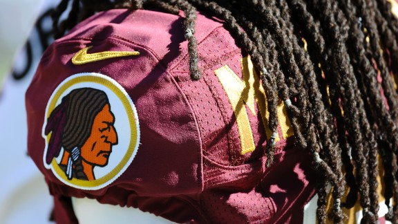 """The Washington Redskins team name and logo got heightened visibility when President Barack Obama and high-profile sportscasters Bob Costas and Christine Brennan spoke out against it in 2013. Team owner Dan Snyder insists the team's name is part of a tradition and is <a href=""""http://sportsillustrated.cnn.com/2014/football/nfl/wires/04/22/2020.ap.fbn.redskins.snyder.2nd.ld.writethru.0837/"""">""""not an issue.""""</a>"""