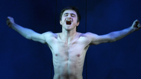 "Daniel Radcliffe spent so much time naked on the sets of films and productions, he had to ask the producers of his Brit drama ""A Young Doctor"