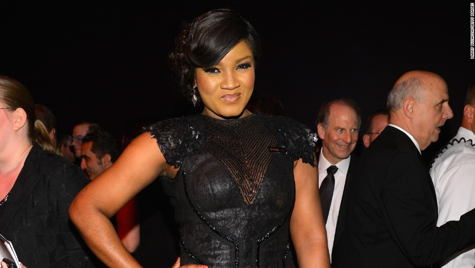 "She also has her own reality TV show, named ""Omotola: The Real Me."""