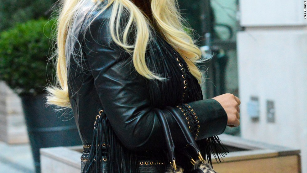 Jessica Simpson braves New York City's cold with a smile on January 7.
