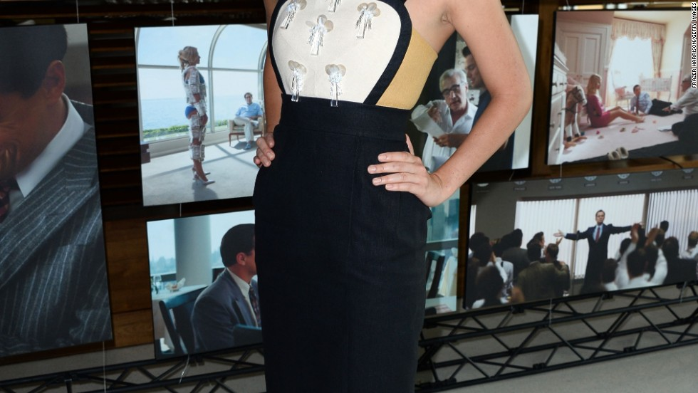 "Margot Robbie's unique look made headlines at the ""Wolf of Wall Street"" premiere on January 8."
