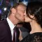 21 pca red carpet - Ian Ziering kisses wife